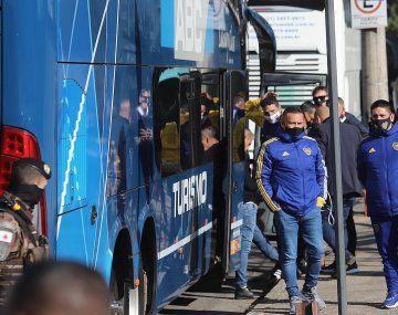 Boca ya está de regreso en Buenos Aires y la delegación deberá aislarse por siete días.