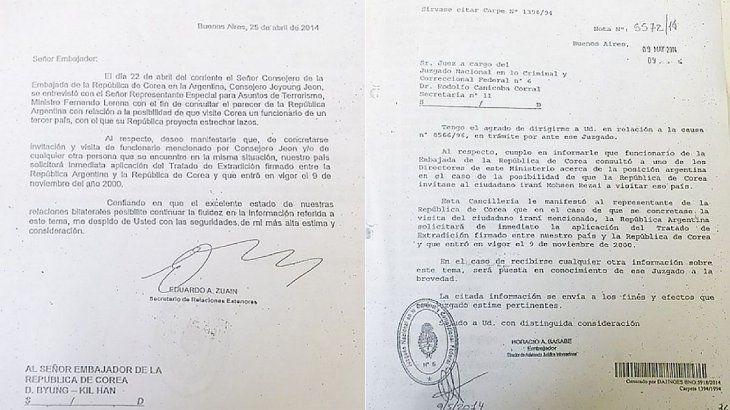 La agencia Télam accedió a la saga de documentos -incluso aquellos de carácter confidencial- que generaron esa respuesta por parte de la Argentina.