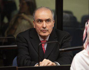 El exsecretario de Obras Públicas, José López.