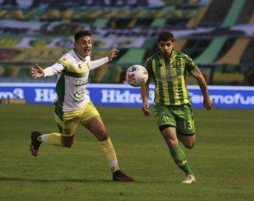 Aldosivi le ganó a Defensa y Justicia en la Liga Profesional.