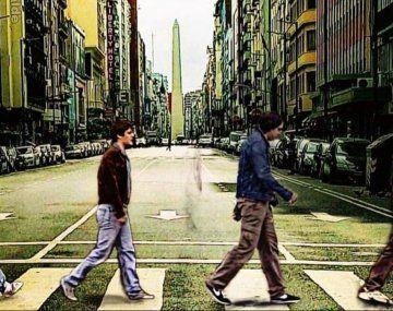 Abbey Road: Chiqui, Ricardo, Walter y el Pollo, en sintonía Beatle.