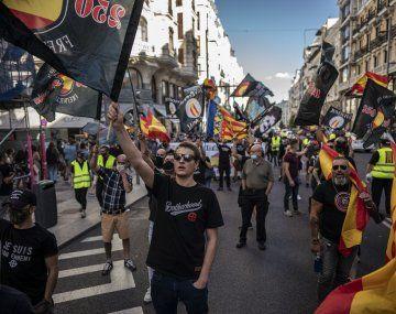 España: el gobierno denunciará en la justicia la manifestación homófoba y racista en Madrid