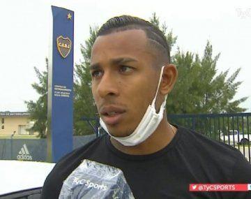 El delantero de Boca Sebastián Viilla termina su sanción y quiere ser titular ante River.