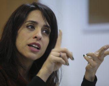 Victoria Donda, directora del INADI.