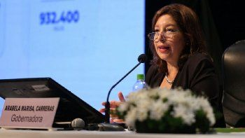 Arabela Carreras advirtió que el conflicto mapuche es serio y pidió que intervenga la AFI