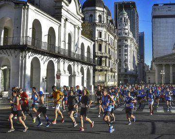 La maratón y los 21k de Buenos Aires se correrán en 10 de octubre.
