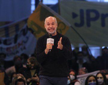 El jefe de gobierno porteño, Horacio Rodríguez Larreta, dijo estar a favor de la eliminación de la indemnización por despido.