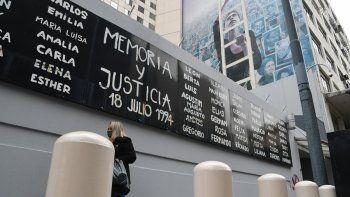la muestra ese dia permite construir una memoria colectiva sobre el atentado a la amia