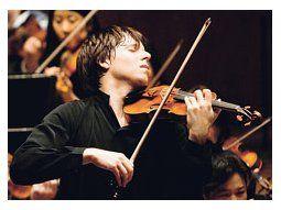El violinista prodigio Joshua Bell realizó otro aplaudido recital dentro del ciclo Nuova Harmonia.