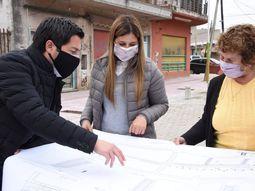 Malvinas Argentinas: embellecimiento urbano en el centro de Ing. Adolfo Sourdeaux