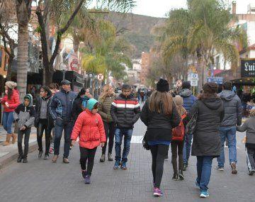 Turismo. Por la situación sanitaria y económica hay pocos argentinos viajando por el país.