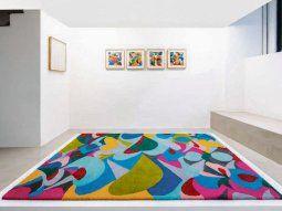 inés Raiteri. El arte textil como metáfora del confinamiento, aunque sus obras trasunten alegría