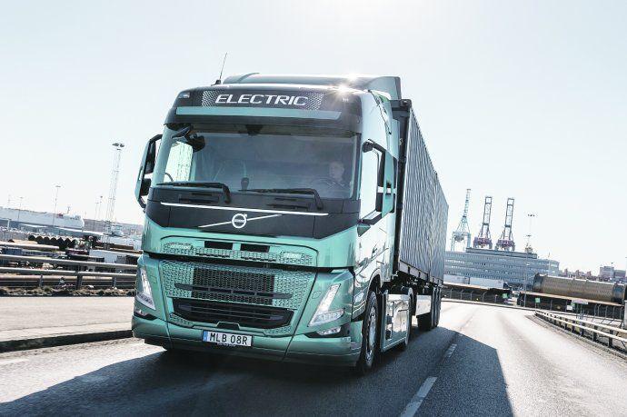 Volvo, con camiones ecológicos