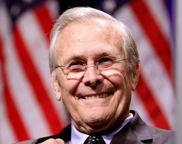 Murió Donald Rumsfeld