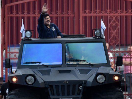 La pelea por la herencia de Maradona