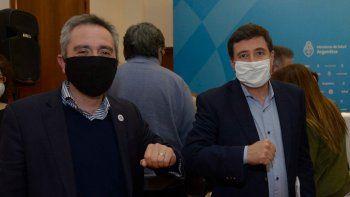 Andrés Cuervo Larroque y Daniel Arroyo.