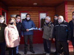 cabandie inauguro la subcentral de incendios del parque nacional lanin