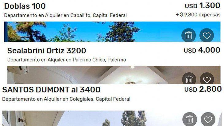 Cada vez más propietarios eligen publicar en las webs sus viviendas en moneda extranjera.