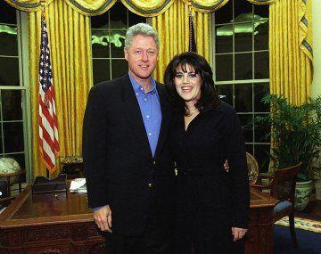Otros tiempos en la Casa Blanca. Bill Clinton y Mónica Lewinsky.