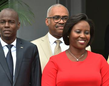 Ex primera dama de Haití pide ayuda para aclarar asesinato de su marido