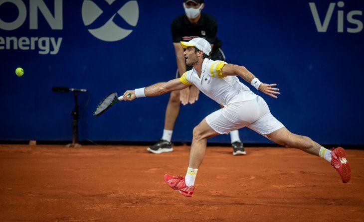 Pablo Andújar derrotó a Juan Ignacio Londero y consiguió su primera victoria en sus seis Argentina Open jugados.