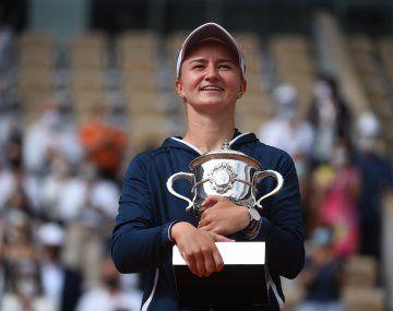 Barbora Krejcikova, la nueva reina de Roland Garros.