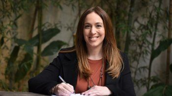 María Eugenia Vidal formalizó su precandidatura y presentó su lista