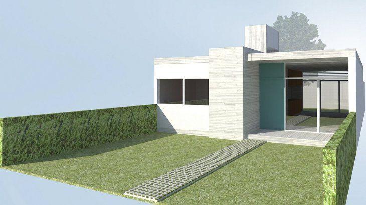 """Los proyectos de vivienda incluyen planos e imágenes, y contemplan todos los requisitos establecidos en las bases y condiciones del Programa. Este modelo se llama """"Compacta""""."""