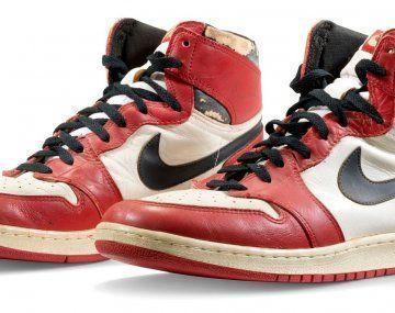 Las Air Jordan 1 son las zapatillasmás caras jamás subastadas.