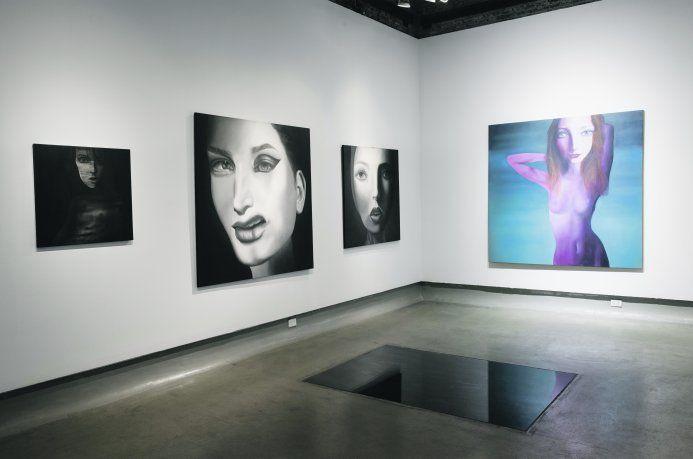 Elsa Soibelman. Una de las salas de su muestra en Pasaje 17.