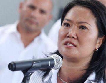 La candidata de derecha peruana, Keiko Fujimori.