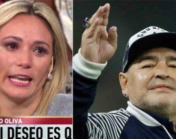 Rocío Oliva le pegó a Verónica Ojeda y dijo que el problema de Maradona es el alcohol