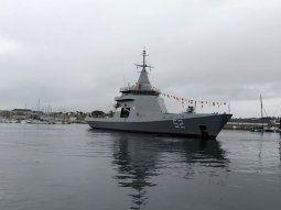 Francia entregó nuevo buque para patrullar la plataforma