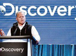 David Zaslav. El CEO de Discovery estará al frente del nuevo megagrupo, cuyo nombre aún no fue revelado.