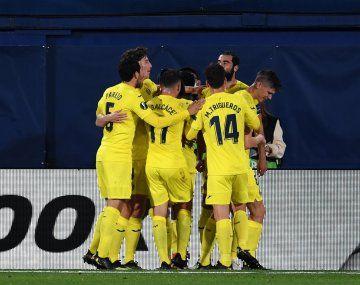 Villarreal ganó la semifinal de ida de la Europa League ante Arsenal.