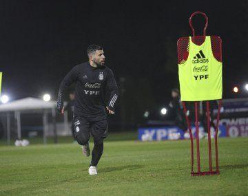 La Selección entrenó en Ezeiza con miras al partido de la segunda fecha de la Copa América ante Uruguay.