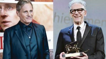 Equipo. Viggo Mortensen y David Cronenberg vuelven a trabajar juntos..
