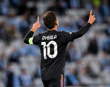 Paulo Dybala anotó el segundo gol de Juventus en el triunfo 2-0 sobre Malmo en la Champions League.