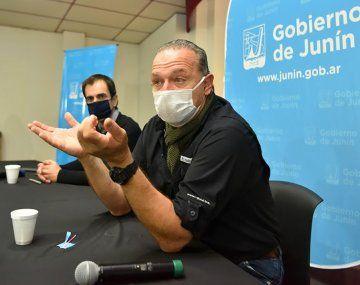 La responsabilidad de la seguridad en la provincia es del gobierno de la provincia de Buenos Aires, dijo Sergio Berni.