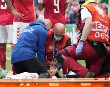 Drama en la Eurocopa: Eriksen se desvaneció