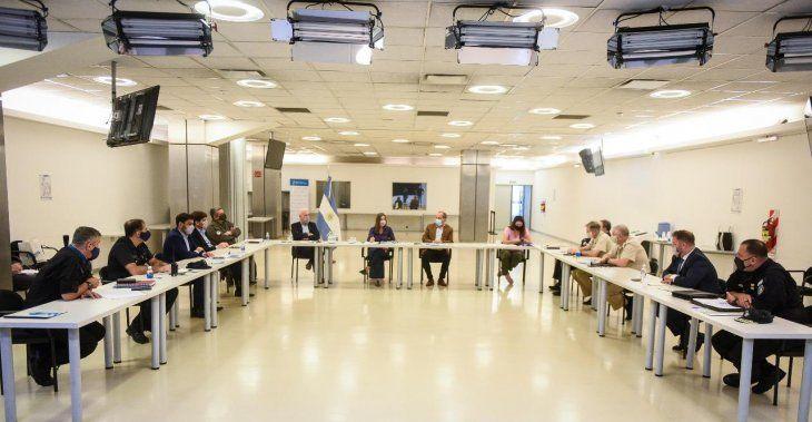 Reunión de Seguridad tras anuncio de restricciones