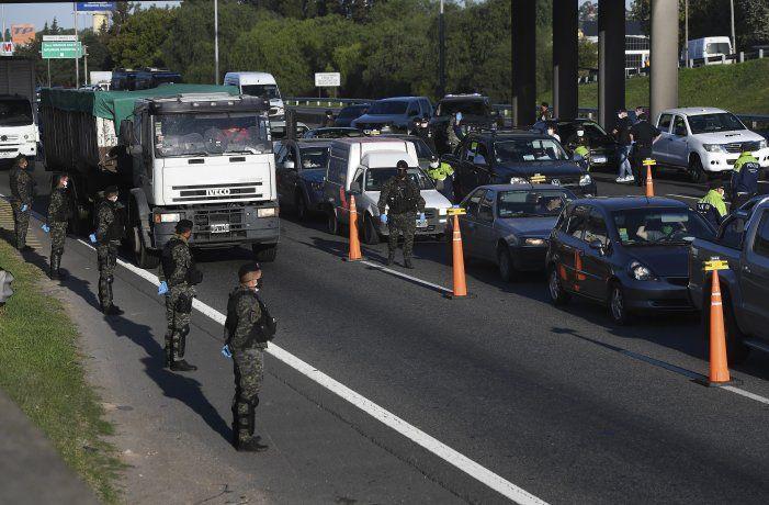 Se espera que se retomen los controles de las personas en los principales accesos a la Ciudad de Buenos Aires.