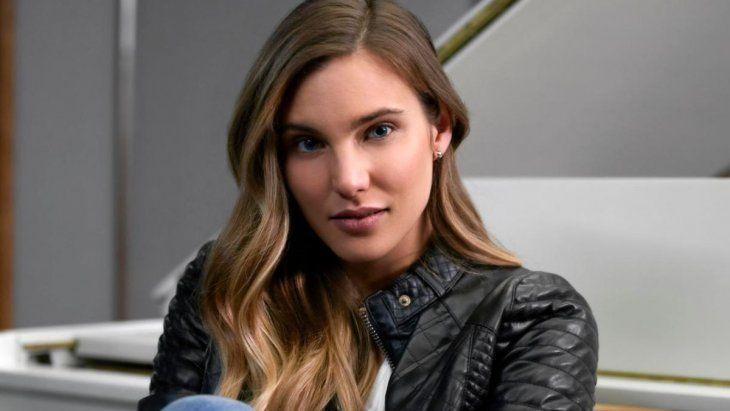 Macarena Achaga interpreta en la serie a Michelle Salas, la hija de Luis Miguel