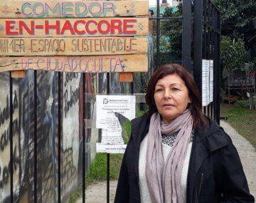 Acción solidaria de Indalo Media en el comedor comunitario de Bilma Acuña