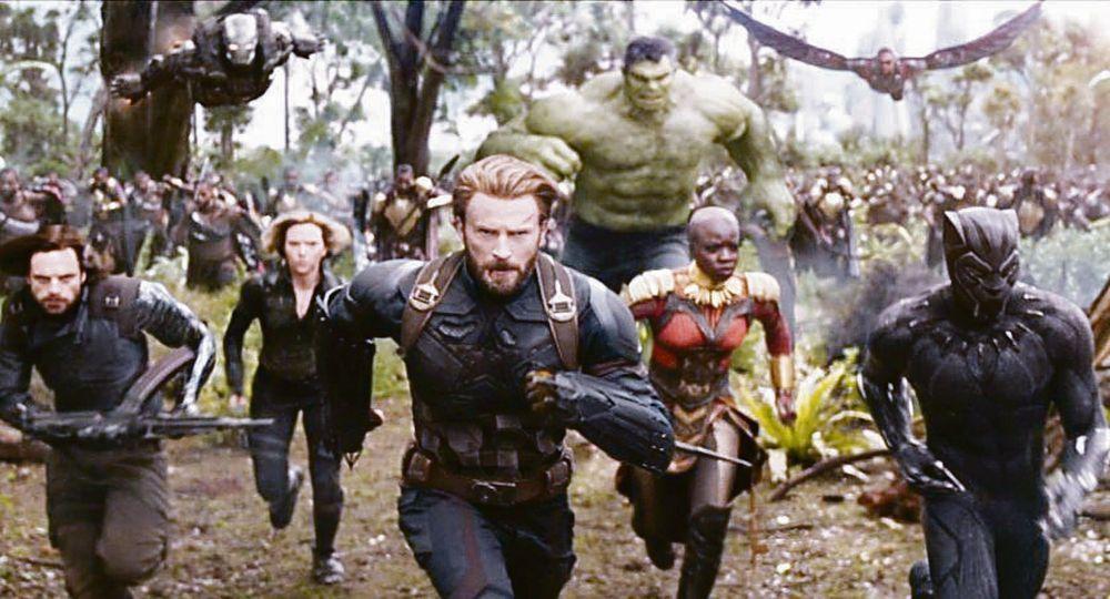 Avengers. Están de vuelta
