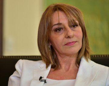 La exprocuradora general de la Nación, Alejandra Gils Carbó.
