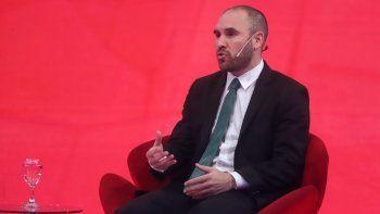 martin guzman: ni el mercado anticipa una devaluacion a fin de ano