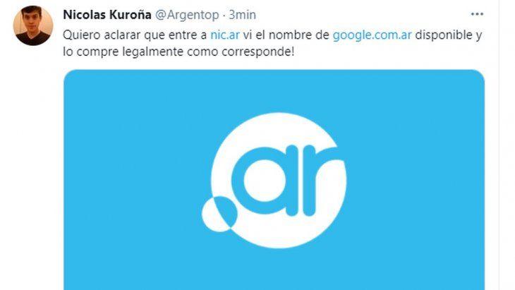 Quién es el joven que se adueñó de Google Argentina