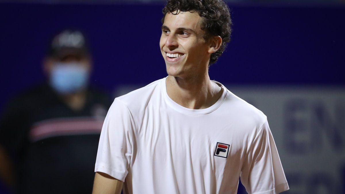 Una noche histórica para Cerúndolo, que es finalista del Córdoba Open