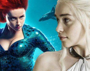 Emilia Clark reemplazaría a Amber Heard en Aquaman